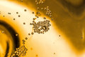 Champagne bubbles beautiful of Royalty Free Stock Photos