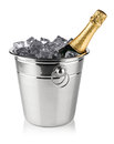 Champagne cooler Royalty Free Stock Photos