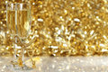 Champagne flutes Royalty Free Stock Photo