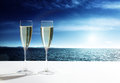 Champaign Glasses Royalty Free Stock Photo