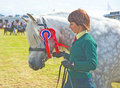 The Champion at Nairn Show. Royalty Free Stock Photo