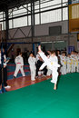 Championnats Taekwon-do Images stock