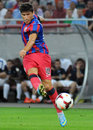 Champions league steaua bucharest dinamo tbilisi s cristian tanase pictured in action before the qualifier game between romania Stock Image