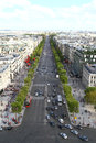 Champs Elysee, Paris Royalty Free Stock Photo