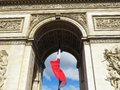 Champs Elysee Royalty Free Stock Photo