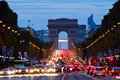 Champs-Elysees Royalty Free Stock Images
