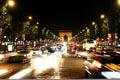 Champs-Elysees Avenue. Elysian fields