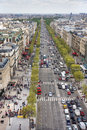 Champs Elysees, Paris Royalty Free Stock Photos