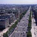 The Champs-Elysees in Paris, France Stock Photo