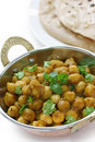 Chana masala , chickpea curry , indian dish Stock Image