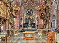 Chancel and altar of storkyrkan the great church in stockholm sweden high sankt nikolai kyrka st nicholas most commonly known as Stock Images