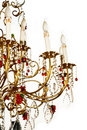 Chandelier isolated Royalty Free Stock Images