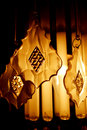 Chandelier lighting photo study of Royalty Free Stock Photos
