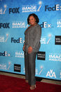 Chandra wilson los angeles feb arrives at the naacp image awards nominee reception at beverly hills hotel on february in beverly Stock Images