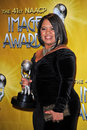 Chandra wilson at the st naacp image awards press room shrine auditorium los angeles ca Stock Image
