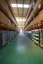 Chang'an Minsheng Logistics Storage Center Royalty Free Stock Photography