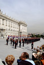 Change of the Guard. Royal Palace. Madrid, Spain Stock Image