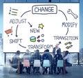 Change Improvement Development Adjust Transform Concept Royalty Free Stock Photo
