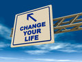 Change your life Stock Photos