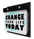 Váš život dnes stěna kalendář