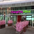 Changi city point entrance to singapore Royalty Free Stock Photos