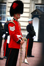 Changing of the guard at buckingham palace Stock Photography