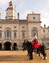 Changing the Guard, Horse Guards Parade. Royalty Free Stock Image