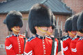Changing of Guard in Parliament Hill, Ottawa Royalty Free Stock Photo