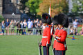 Changing of Guard in Parliament Hill, Ottawa Royalty Free Stock Photography