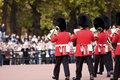 Changing guards ceremony, London Royalty Free Stock Photos