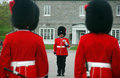 changing of the Guards Royalty Free Stock Photo