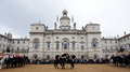 Changing of the Royal Horse Guards in London