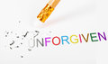 Changing The Word Unforgiven T...