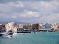 Chania the city of western crete greece Stock Photo
