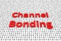 Channel bonding
