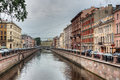 Channel of Griboedov in Saint-Petersburg Royalty Free Stock Image