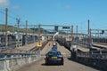 Channel tunnel Folkestone