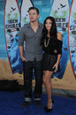 Channing Tatum,Jenna Dewan Stock Images