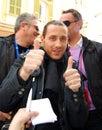 Chanson 2009 d'Italien de festival Images libres de droits