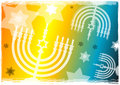 Chanukah Menorah Royalty Free Stock Photos