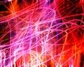Chaos neon light