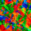 Chaotic colorful art abstract shattered digital crystal irregular mess Royalty Free Stock Photography