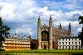 The Chapel of Cambridge Royalty Free Stock Image