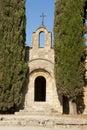 Chapel in cedars greek orthodox church rhodes island greece Stock Image