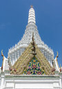 Chapel at city pillar shrine bangkok thailand beautiful Stock Image