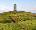 Chapel in the country czech republic europe view of Stock Image