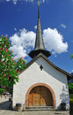 Chapel in Gstaad Stock Photography