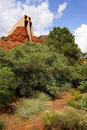 Chapel of the Holy Cross in Sedona Stock Images