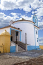 Chapel of nossa senhora da conceicao in elvas portugal the is a beautiful and picturesque on top the city walls and over one Stock Photos