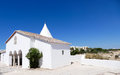 Chapel of nossa senhora da rocha portugal algarve porches this ancient fort is placed in a rocky spot over the sea national trust Royalty Free Stock Photography